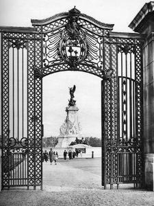 Wought-Iron Gates, Buckingham Palace, London, 1926-1927 by McLeish