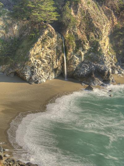 Mcway Falls at Julia Pfeiffer Burns State Park on the Big Sur Coast of California-Kyle Hammons-Photographic Print