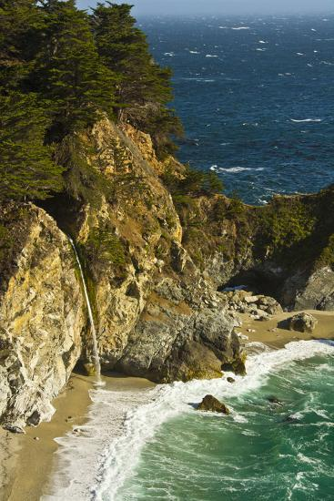Mcway Falls, Julia Pfeiffer Burns State Park, Big Sur, California, USA-Michel Hersen-Photographic Print