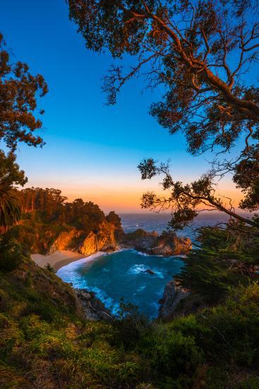 Mcway Falls Julia Pfeiffer Burns State Park, Near Carmel California Usa-Kris Wiktor-Photographic Print