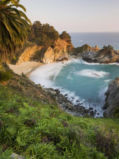 Mcway Falls, Mcway Cove, Julia Pfeiffer Burns State Park, California, Usa-Rainer Mirau-Photographic Print