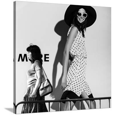 Me And My Expectations-Bobby Kostadinov-Stretched Canvas Print