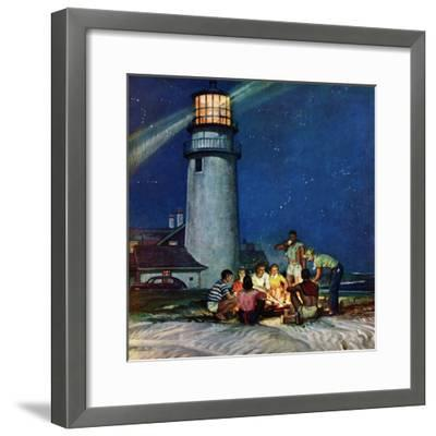 """Beach Bonfire"", September 16, 1950"