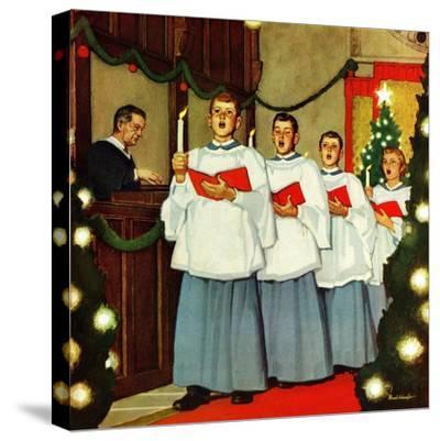 """""""Boys Christmas Choir"""", December 26, 1953"""