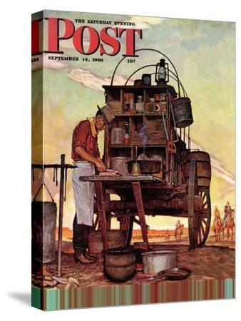 """Chuckwagon,"" Saturday Evening Post Cover, September 14, 1946"