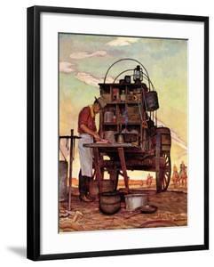 """""""Chuckwagon,"""" September 14, 1946 by Mead Schaeffer"""