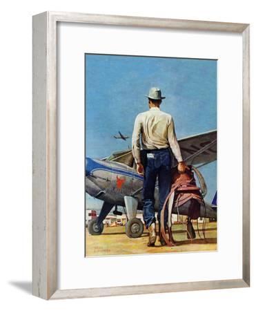 """""""Flying Cowboy,"""" May 17, 1947"""