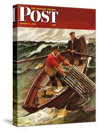 """Lobstermen,"" Saturday Evening Post Cover, March 9, 1946"