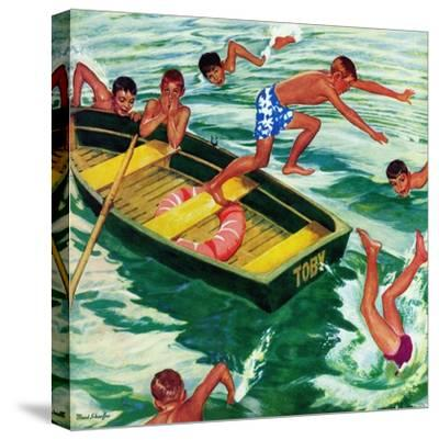 """Rowboat Diving"", July 12, 1952"
