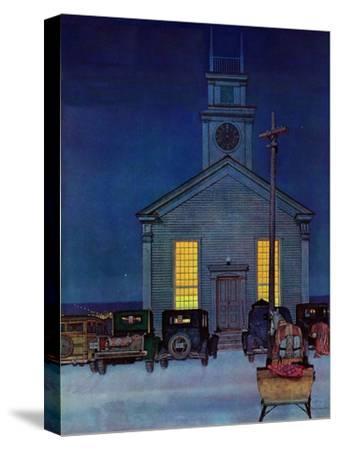 """Rural Church at Night,"" December 30, 1944"