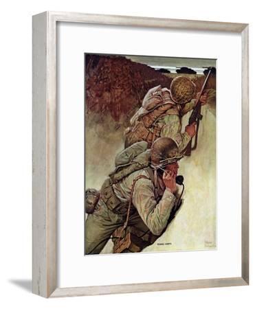"""Signal Corpsmen During Battle,"" September 9, 1944"
