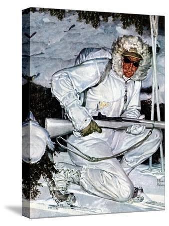 """Ski Patrol Soldier,"" March 27, 1943"