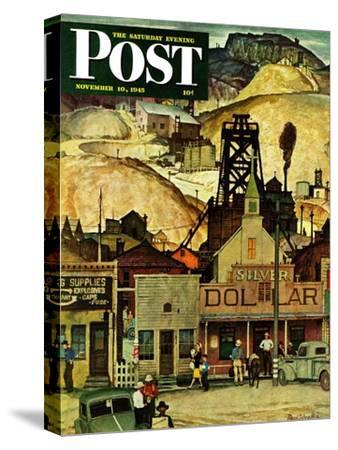 """""""The Silver Dollar,"""" Saturday Evening Post Cover, November 10, 1945"""
