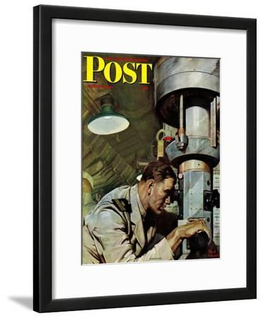 """Up Periscope!,"" Saturday Evening Post Cover, April 22, 1944"