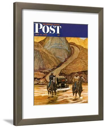 """""""Westward Tow,"""" Saturday Evening Post Cover, May 29, 1948"""