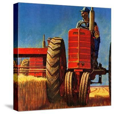 """Wheat Harvest"", August 12, 1950"