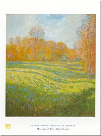 Meadow At Giverny-Claude Monet-Art Print