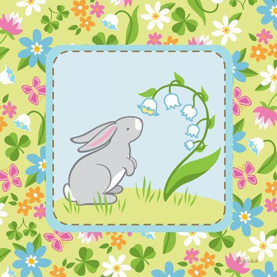 Meadow Bunny I-Betz White-Art Print