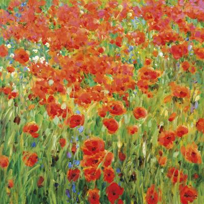 Meadow Drift-Malva-Giclee Print