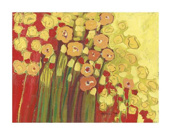 Meadow in Bloom-Jennifer Lommers-Art Print