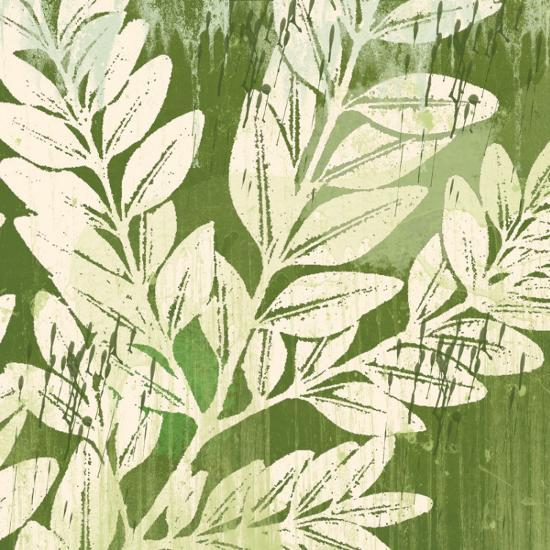 Meadow Leaves-Erin Clark-Art Print