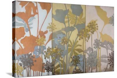 Meadow Pods-Sally Bennett Baxley-Stretched Canvas Print