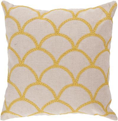 Meadow Poly Fill Pillow - Yellow--Home Accessories
