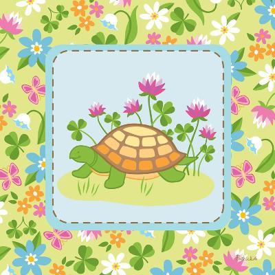 Meadow Turtle II-Betz White-Art Print