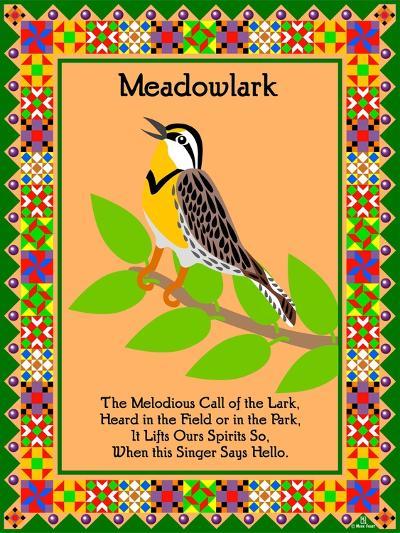 Meadowlark Quilt-Mark Frost-Giclee Print