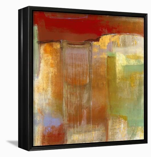 Measure of Vibration-Maeve Harris-Framed Canvas Print