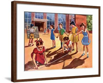 Measuring Shadows--Framed Art Print