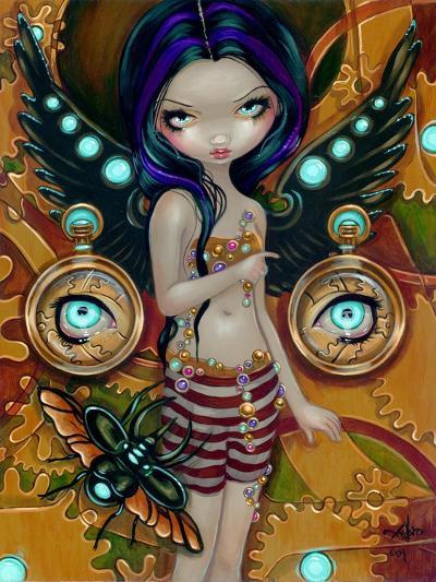 Mechanical Angel III-Jasmine Becket-Griffith-Art Print