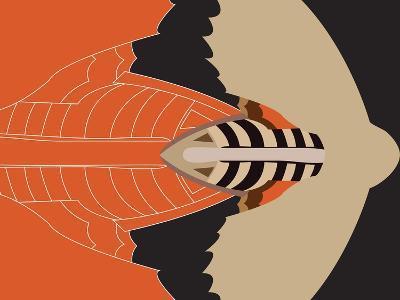 Mechanical Bat-Belen Mena-Giclee Print