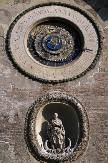Mechanical Clock Designed-Luca Fancelli-Giclee Print