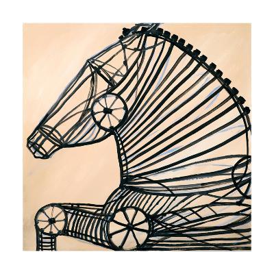 Mechanical Horse II-JC Pino-Art Print