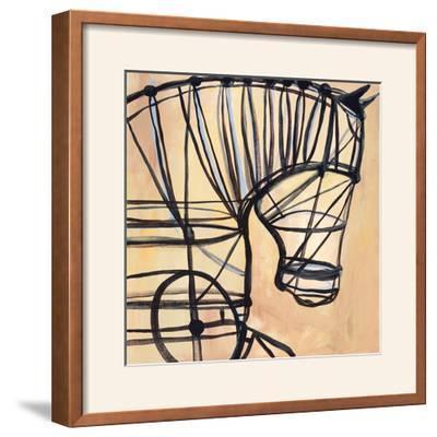 Mechanical Horse-JC Pino-Framed Photographic Print