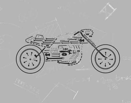 Mechanics III-Justin Lloyd-Art Print