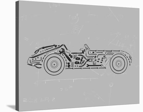 Mechanics IV-Justin Lloyd-Stretched Canvas Print