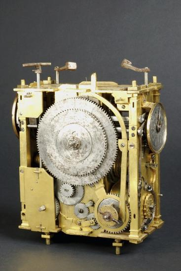 Mechanism of Clock That Can Indicate Position of Stars--Giclee Print