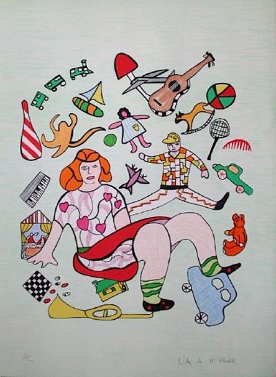 Mechant-Mechant - les Jouets-Niki De Saint Phalle-Limited Edition
