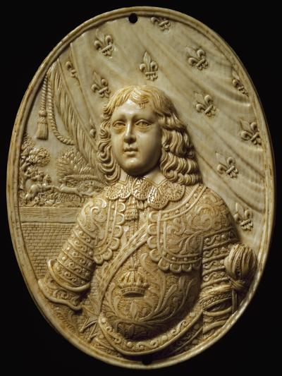 Medallion Depicting Prince, Ivory--Giclee Print