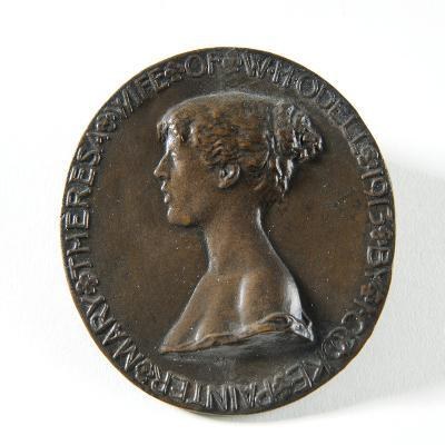 Medallion Portrait of Mary Theresa Odell, 1913-Isaac Cooke-Giclee Print