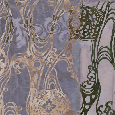Medallions & Damask I-Jennifer Goldberger-Art Print