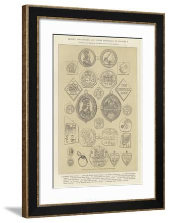 Medals, Siege-Pieces, and Other Memorials of Charles I--Framed Giclee Print