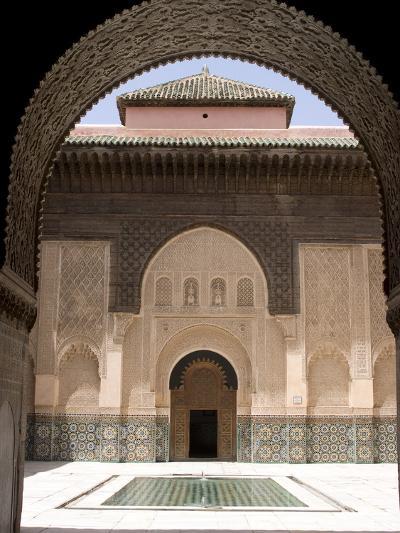 Medersa Ben Youssef, Marrakech, Morocco, North Africa, Africa--Photographic Print