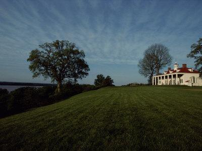 A View of Mount Vernon, the Home of President George Washington