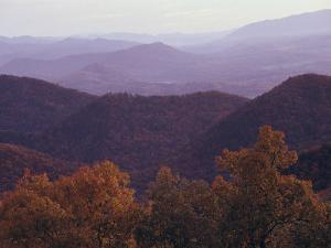 Autumn in the Blue Ridge Mountains, Virginia by Medford Taylor
