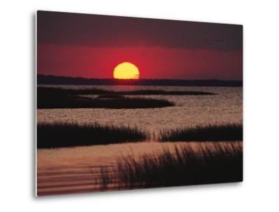 Sunset over Chincoteague Island Marsh, Virginia