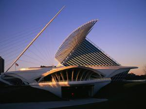 The Milwaukee Art Museum at Twilight by Medford Taylor