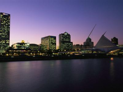 The Milwaukee Skyline at Twilight